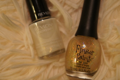 Revlon Colorstay Calla Lily, Finger Paints Twisted