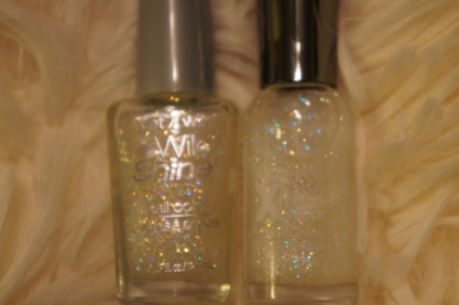 Wet n Wild Hallucinate, Sally Hansen Xtreme Wear Disco Ball
