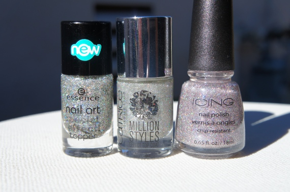 Essence Hello Holo!, Catrice Million Styles Have An Ice Day, Icing by Claire's Sugar Coated