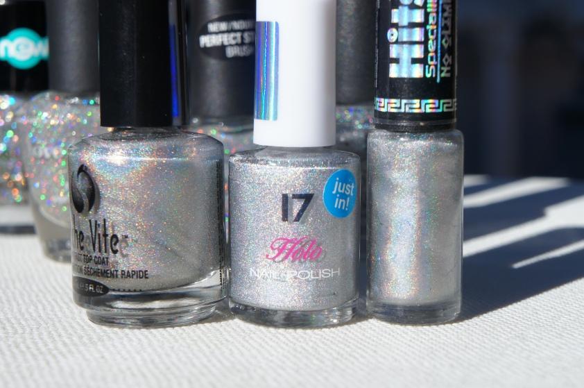 alelvi123's silver holo top coat, 17 Holo Silver, Hits No Olimpo Artemis