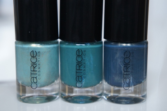 Catrice bluegreens