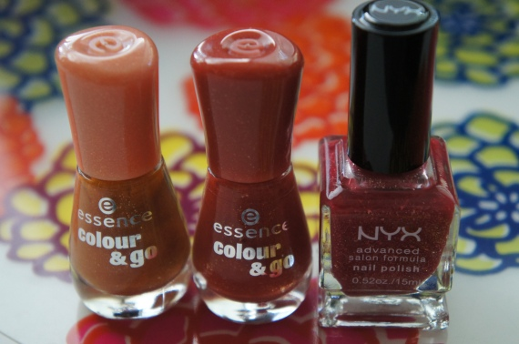 Essence C&G - 119 Boho Chic Essence C&G - 116 Gorgeous Bling Bling NYX - Forever Young