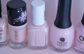 Finger Paints Petal Obsession is matte, discovered by accident.