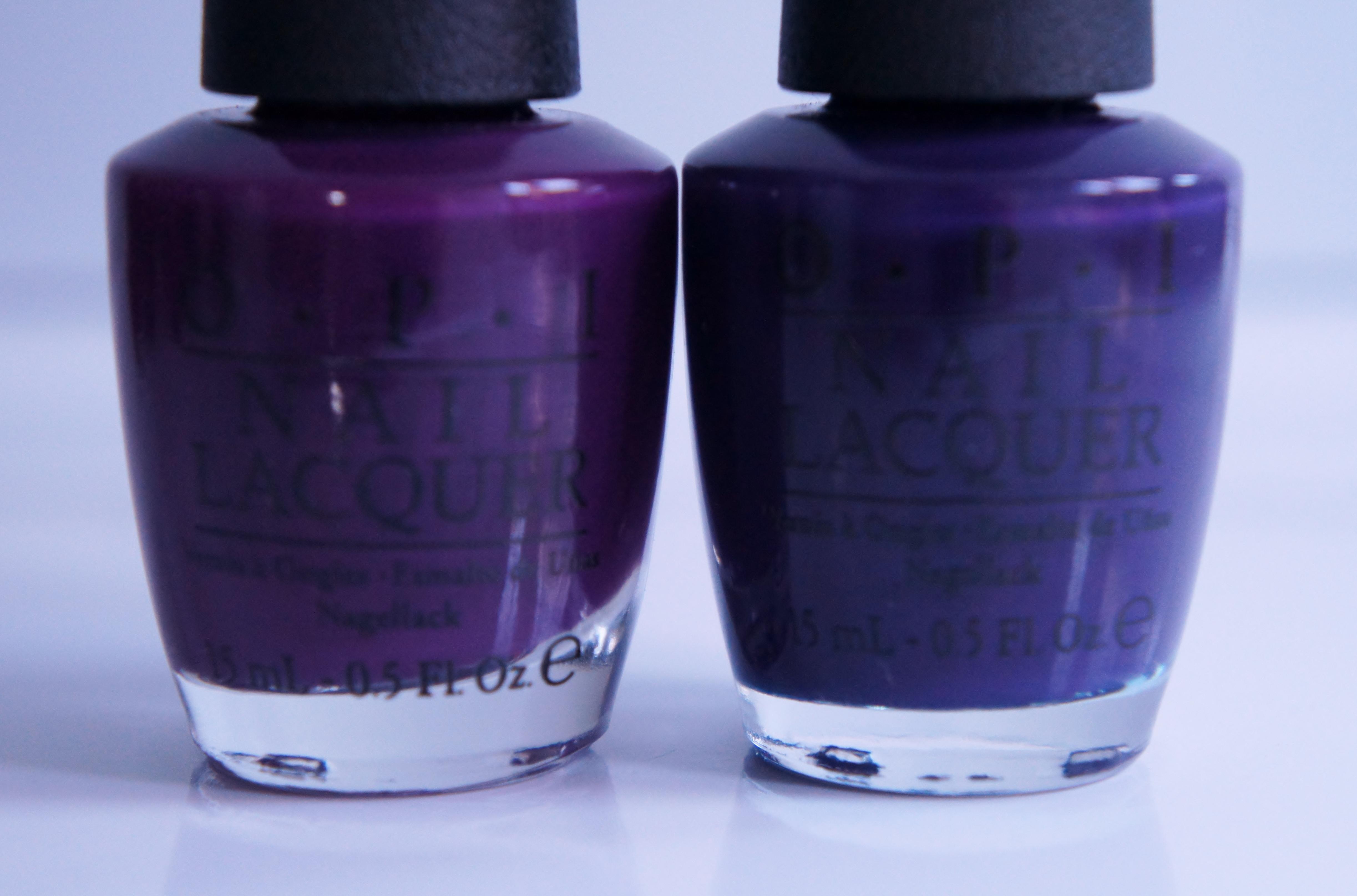 Purple Palace Opi Cr 232 Me Cornerstones Blueberry Milk Tea